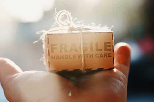 emballer objets fragiles